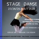 Stage Danse été 2019
