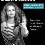 Rencontre avec Charlotte Saluste-Bridoux