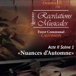 Les recréations musicales 2018-2019, première